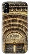 Facade Of Manila Cathedral IPhone X Case