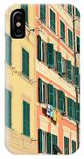 facades in Camogli IPhone Case