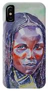 Face From Sudan  1 IPhone Case