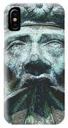 Face In The Cannon IPhone Case