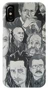 faces of Gary Oldman IPhone X Case