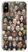 Faces Of Humanity IPhone Case