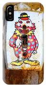 Faded Clown IPhone Case