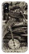 Faded Country Time Banjos IPhone Case
