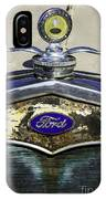 Faded Ford IPhone Case