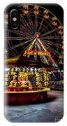 Fairground At Night IPhone Case