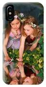 Fairies And Dragonflies IPhone Case