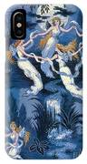 Fairies In The Moonlight French Textile IPhone Case