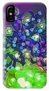 Fairy Light Garden Green By Jrr IPhone Case