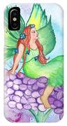 Fairy On Lilac IPhone Case
