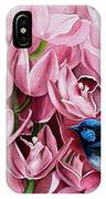 Fairy Wrens And Orchids IPhone Case