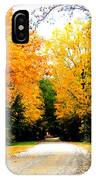 Fall 35 IPhone Case