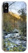 Fall Along Citico Creek IPhone Case