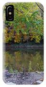 Fall Along The Scioto River IPhone Case
