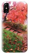 Fall And Fog IPhone Case
