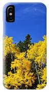 Fall Aspens IPhone Case