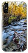 Fall At Big Pine Creek IPhone Case