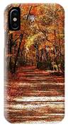 Fall At Cheesequake IPhone Case