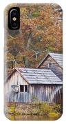 Fall At Mabry Mill IPhone Case