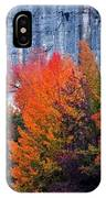 Fall At Steele Creek IPhone Case