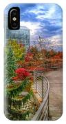 Fall At The Gardens IPhone Case