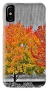 Fall At The Mann IPhone Case