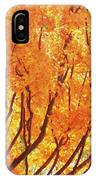 Fall At The Shore IPhone Case