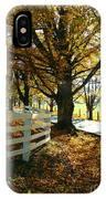 Fall Back Roads IPhone Case
