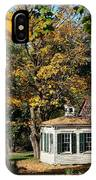 Fall Barn IPhone Case
