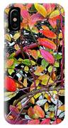 Fall Blueberry Bush IPhone Case