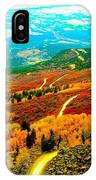 Fall Carpet At Lands End IPhone Case