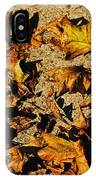 Fall Cleanup IPhone Case