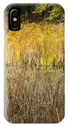 Fall Color At Banff Spring Basin IPhone Case