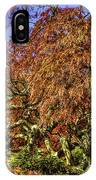 Fall Color At Biltmore IPhone Case