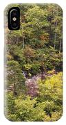 Fall Color In Little River Canyon IPhone Case