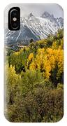 Fall Color In The Rockies Near Ouray Dsc07913 IPhone Case