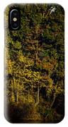 Fall Color Trees V8 Pano IPhone Case