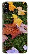 Fall Colored Leaves IPhone Case