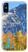 Fall Colors Cover Work IPhone Case