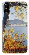 Fall Colors Frame Whiteface Mountain IPhone Case