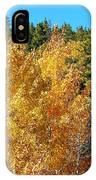 Fall Colors On The Colorado Aspen Trees IPhone Case