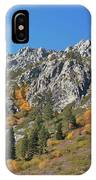 Fall Colors S Lake Tahoe California IPhone Case