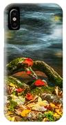 Fall Colors Stream Great Smoky Mountains Painted  IPhone Case