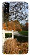 Fall Comes To The Hollow IPhone Case