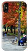 Fall Couples IPhone Case