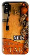 Fall Decoration IPhone Case