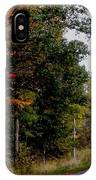 Fall Drive Color Tour IPhone Case