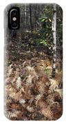 Fall Ferns IPhone Case
