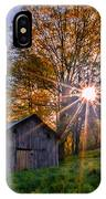 Fall Firewall IPhone Case