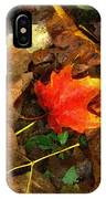 Fall Flames Out IPhone Case
